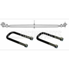 FRONT SUSPENSION MULTI ROAD SPRING & U-BOLTS