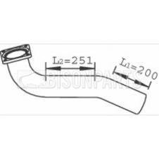 MAN L2000 EXHAUST FRONT DOWN PIPE