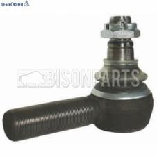 Daf / Iveco / Renault / Scania Tie Rod / Drag Link End With Castle Nut And Split-Pin RHT (M30 x 1,5 L120mm) Lemforder