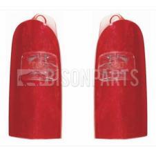 NISSAN, RENAULT & VAUXHALL REAR TAIL LAMP LENS RH & LH (PAIR)