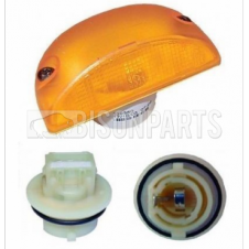 AMBER SIDE REPEATER LAMP & BULB HOLDER FITS RH OR LH