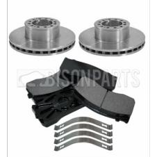 MAN LE, TGL & TGM 2000-2013 FRONT BRAKE DISCS & PADS (AXLE SET)