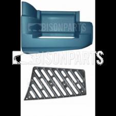 DAF LF55 16-18 Tonnes (2001 on) Bottom Step Surround & Tread Plate RH/OS