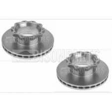 MAN LE, TGL & TGM 2000-2013 REAR BRAKE DISCS (PAIR)