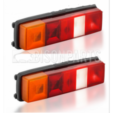 Ford Transit MK3 MK4 MK5 MK6 MK7 (1986-2014) Complete Rear Lamp (Pick Up Models) RH/OS & LH/NS (PAIR OF)