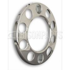 UNIVERSAL 10 STUD STAINLESS STEEL WHEEL COVERS (CENTER HOLE)