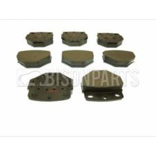 BOVA FUTURA FHD & FVD FRONT BRAKE PAD SET & FITTING KIT