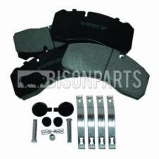 BOVA FUTURA FHD FRONT BRAKE PAD SET & FITTING KIT