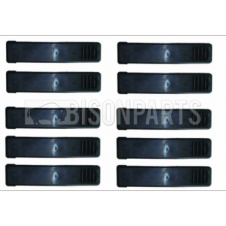 Renault Premium Version 3 (10 On), Volvo FH Version 3 (09 On) FM Version 3 (09 On) Wing Top Strap PACK OF 10