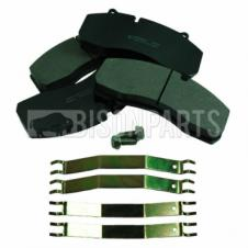 BRAKE PAD SET & FITTING KIT FITS FRONT OR REAR AXLES