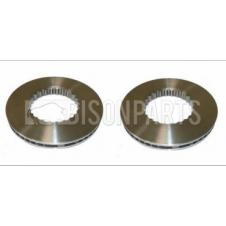 VOLVO FH, FH & FH16 2002-2013 FRONT / REAR SOLID BRAKE DISCS ONLY (PAIR)