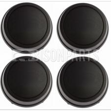 FORD TRANSIT MK5, MK6 & MK7 (1995-2013) WHEEL CENTRE CAPS x4 FRONT & REAR