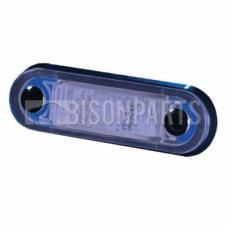 MARKER LAMP BLUE LED 10-33 VOLT