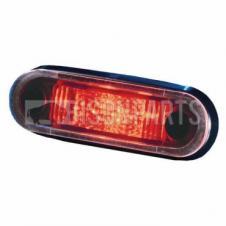 MARKER LAMP RED LED 10-33 VOLT