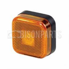 MARKER LAMP AMBER LED 12/24 VOLT