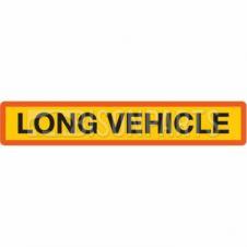 MARKER BOARD TYPE 4 LONG VEHICLE SELF ADHESIVE (SINGLE)