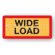 MARKER BOARD TYPE 5 WIDE LOAD SELF ADHESIVE (PAIR)