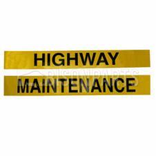 MARKER BOARD HIGHWAY MAINTENANCE SELF ADHESIVE (PAIR)