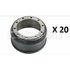 MERITOR ROR TE 9000 SERIES AXLE BRAKE DRUM (PLT OF 20)