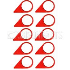 17MM WHEEL NUT INDICATOR RED (PKT 10)