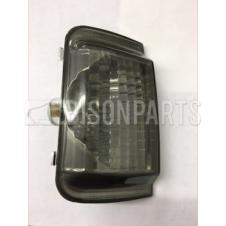 SMOKED MIRROR INDICATOR LENS LH PASSENGER SIDE