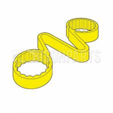 19MM WHEEL NUT CHECKLINK YELLOW (EACH)
