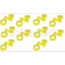 19MM WHEEL NUT CHECKLINKS YELLOW (PKT 10)
