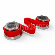 19MM WHEEL NUT CHECKLINK RED (EACH)