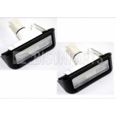 CITROEN, FIAT & PEUGEOT 2007 ONWARDS REAR NUMBER PLATE LAMP (PAIR) *BULB HOLDERS NOT INCLUDED
