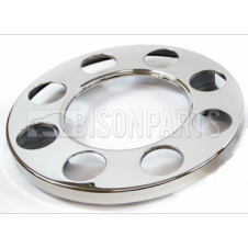 UNIVERSAL 8 STUD STAINLESS STEEL WHEEL COVERS (CENTER HOLE)