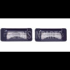 MERCEDES SPRINTER & VOLKSWAGEN LT (1995-2006) NUMBER PLATE LAMPS x2