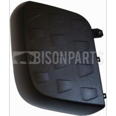 MERCEDES ACTROS MP4, ANTOS & AROCS BLACK PATTERNED WIDE ANGLE MIRROR BACK COVER DRIVER SIDE RH