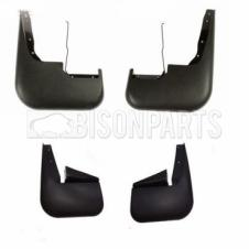 FORD TRANSIT MK6, MK7 (2000-2013) FRONT & REAR MUDFLAPS LH & RH (SINGLE WHEEL)