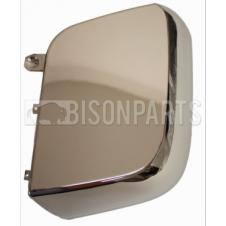 MERCEDES ACTROS MP4, ANTOS & AROCS CROME WIDE ANGLE MIRROR BACK COVER PASSENGER SIDE LH