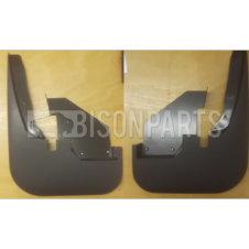 FORD TRANSIT MK6, MK7 (2000-2013) REAR MUDFLAPS LH & RH - TWIN WHEEL