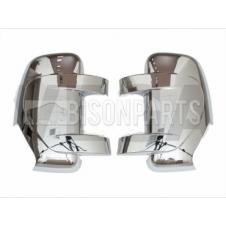 RENAULT MASTER 2010 ONWARDS CHROME MIRROR BACK COVERS RH & LH (PAIR)