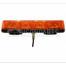 UNIVERSAL SINGLE BOLT LED LIGHT BAR 12/24 VOLT 10 POD (20 LEDS)