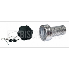 DAF, IVECO, MAN, MERC, RENAULT, VOLVO 80MM KIT FUEL ANTI SYPHON DEVICE WITH LOCKING CAP
