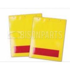 REFLECTIVE TAIL LIFT MARKER FLAG VINYL (PAIR)