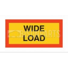 MARKER BOARD TYPE 5 WIDE LOAD ALUMINIUM (PAIR)