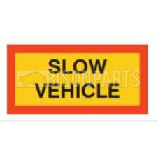 MARKER BOARD TYPE 5 SLOW VEHICLE ALUMINIUM (PAIR)