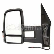 MERCEDES SPRINTER & VOLKSWAGEN CRAFTER 2006 ONWARDS LONG ARM MIRROR HEAD PASSENGER SIDE LH