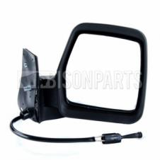 CITROEN, FIAT & PEUGEOT 1996-2007 BLACK CABLE WING MIRROR DRIVER SIDE RH