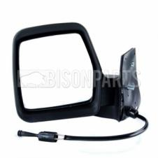 CITROEN, FIAT & PEUGEOT 1996-2007 BLACK CABLE WING MIRROR PASSENGER SIDE LH