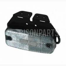 WAS LED CLEAR MARKER LAMP 12V/24V INCLUDING HINGE AND CABLE
