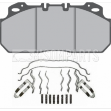 VOLVO OLYMPIAN 1995-2000 FRONT AXLE BRAKE PAD SET