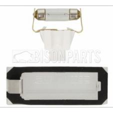 CITROEN, FIAT & PEUGEOT 2006 ONWARDS REAR NUMBER PLATE LAMP