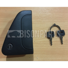 DAF CF65, CF75, CF85 (2001-2013) CF EURO 6  (2013 ON) DOOR HANDLE C/W FITTED LOCK AND 2 KEYS LH/NS
