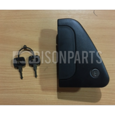 DAF CF65, CF75, CF85 (2001-2013) CF EURO 6 (2013 ON) DOOR HANDLE C/W FITTED LOCK AND 2 KEYS RH/OS