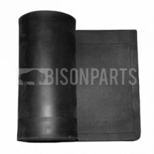 PLAIN BLACK RUBBER MUDFLAP 96